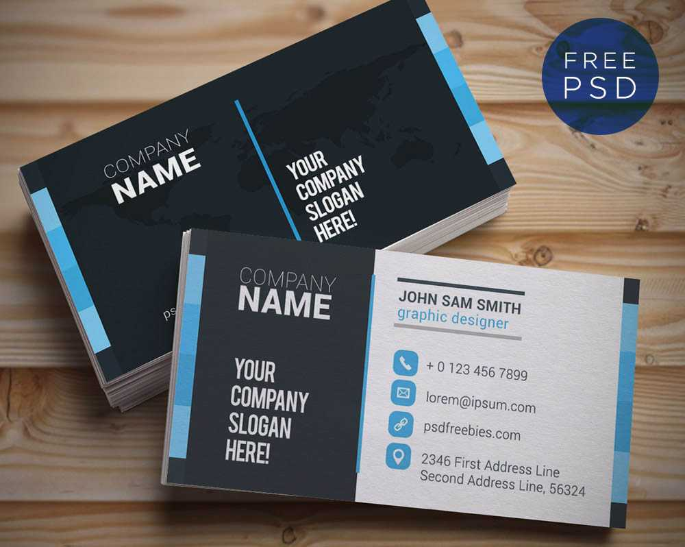 Download Free Vectors, Ui Kits, Html Templates, Css Effects For Name Card Design Template Psd