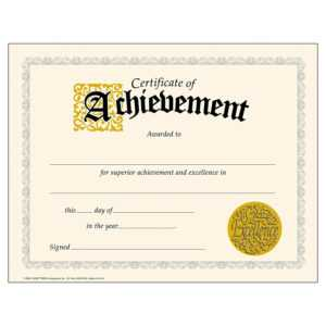 Download-Pdf-Achievement-Certificates-Templates-Free regarding Word Certificate Of Achievement Template