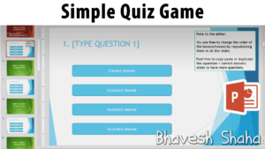 Download Powerpoint Template – Interactive Quiz Game For regarding Quiz Show Template Powerpoint