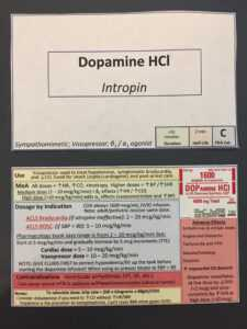 Drug Card Side Hustle – Thoughts? : Ems with regard to Pharmacology Drug Card Template