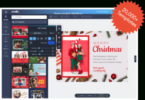 ᐈ Christmas Card Maker 》Create Online Xmas Cards For Free for Print Your Own Christmas Cards Templates