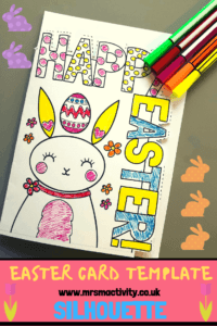 Easter Card Template   Mrs Mactivity with Easter Card Template Ks2