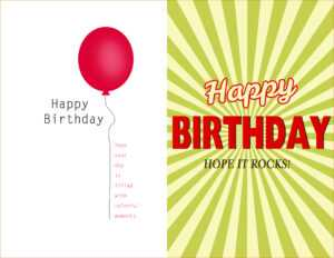 Ec428C0 Pop Up Birthday Card Template Luxury Greeting Card intended for Microsoft Word Birthday Card Template
