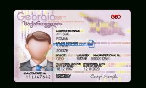Editable Passport Template – Drivers License Psd Photoshop in Georgia Id Card Template