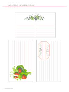 Editable Recipe Template Pdf – Fill Online, Printable within Fillable Recipe Card Template