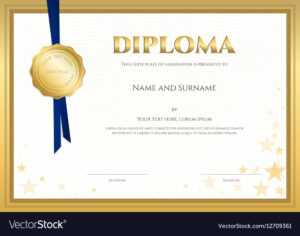 Elegant Diploma Certificate Template Completion with regard to Christian Certificate Template