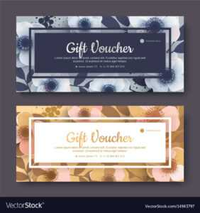Elegant Gift Voucher Coupon Template in Elegant Gift Certificate Template