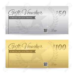 Elegant Gift Voucher Or Gift Card Certificate Template In Gold.. regarding Elegant Gift Certificate Template