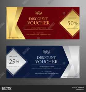 Elegant Gift Voucher Vector & Photo (Free Trial) | Bigstock with Elegant Gift Certificate Template