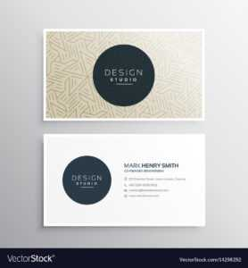 Elegrant Business Company Visiting Card Template inside Company Business Cards Templates