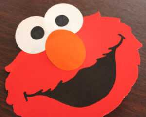 Elmo Pop-Up Card – Repeat Crafter Me pertaining to Elmo Birthday Card Template