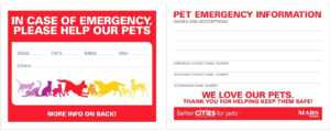 Emergency Card Template Free – Heartwork for In Case Of Emergency Card Template