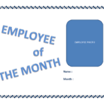 Employee Of The Month Certificate Template | Templates At Inside Employee Of The Month Certificate Template With Picture