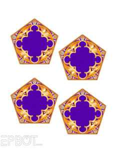 Epbot: Diy Chocolate Frog Ornaments For Your Tree! pertaining to Chocolate Frog Card Template