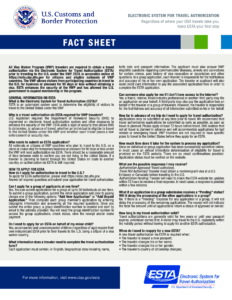 Esta U.s.a. Fact Sheet | Templates At Allbusinesstemplates within Fact Card Template