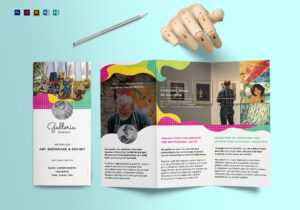 Event And Artistic Tri Fold Brochure Template for Tri Fold Brochure Publisher Template