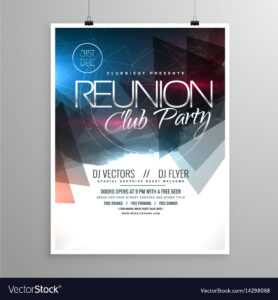 Event Club Party Flyer Template Brochure Design inside Welcome Brochure Template