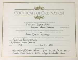 Exceptional Printable Ordination Certificate | Dan's Blog within Ordination Certificate Template