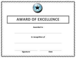 🥰 Free Sample Of Certificate Of Award Templates🥰 inside Free Printable Blank Award Certificate Templates