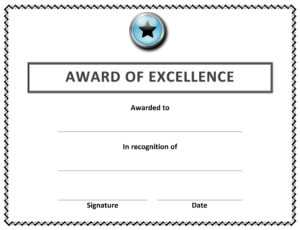 🥰 Free Sample Of Certificate Of Award Templates🥰 with regard to Word Certificate Of Achievement Template