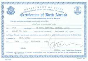 🥰free Printable Certificate Of Birth Sample Template🥰 throughout Build A Bear Birth Certificate Template