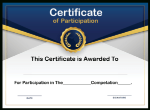 🥰free Printable Certificate Of Participation Templates (Cop)🥰 throughout Certificate Of Participation In Workshop Template