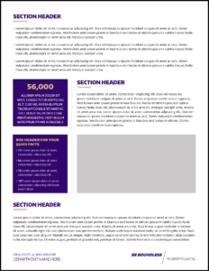 Fact Sheet | Uw Brand with regard to Fact Card Template