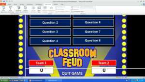 Family Feud Powerpoint Template – Youtube intended for Quiz Show Template Powerpoint