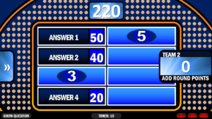 Family Feud   Rusnak Creative Free Powerpoint Games throughout Family Feud Powerpoint Template Free Download