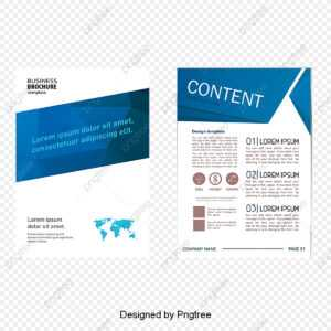 Fashion Geometry Single Page Design, Geometric Folding with Single Page Brochure Templates Psd