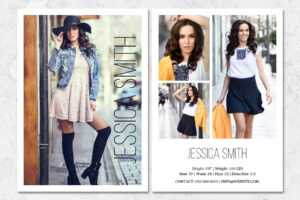 Fashion Model Comp Card Template throughout Download Comp Card Template
