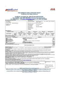 File:vehicle Insurance Certificate In India.pdf – Wikimedia in Auto Insurance Card Template Free Download