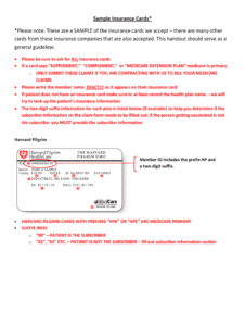 Fillable Blank Insurance Card Template – Fill Online within Proof Of Insurance Card Template