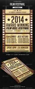 Film Festival Graphics, Designs & Templates From Graphicriver with regard to Film Festival Brochure Template