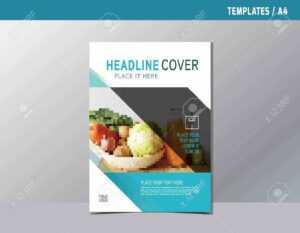 Flyer Leaflet Brochure Template A4 Size Design. in Nutrition Brochure Template