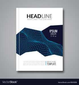 Flyer Template Technology Brochure Layout pertaining to Ai Brochure Templates Free Download