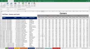 Football, Soccer Betting Odd Software. Microsoft Excel within Football Betting Card Template
