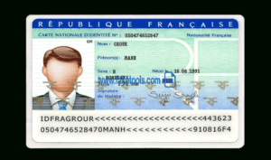 France Id Card Psd Template pertaining to French Id Card Template