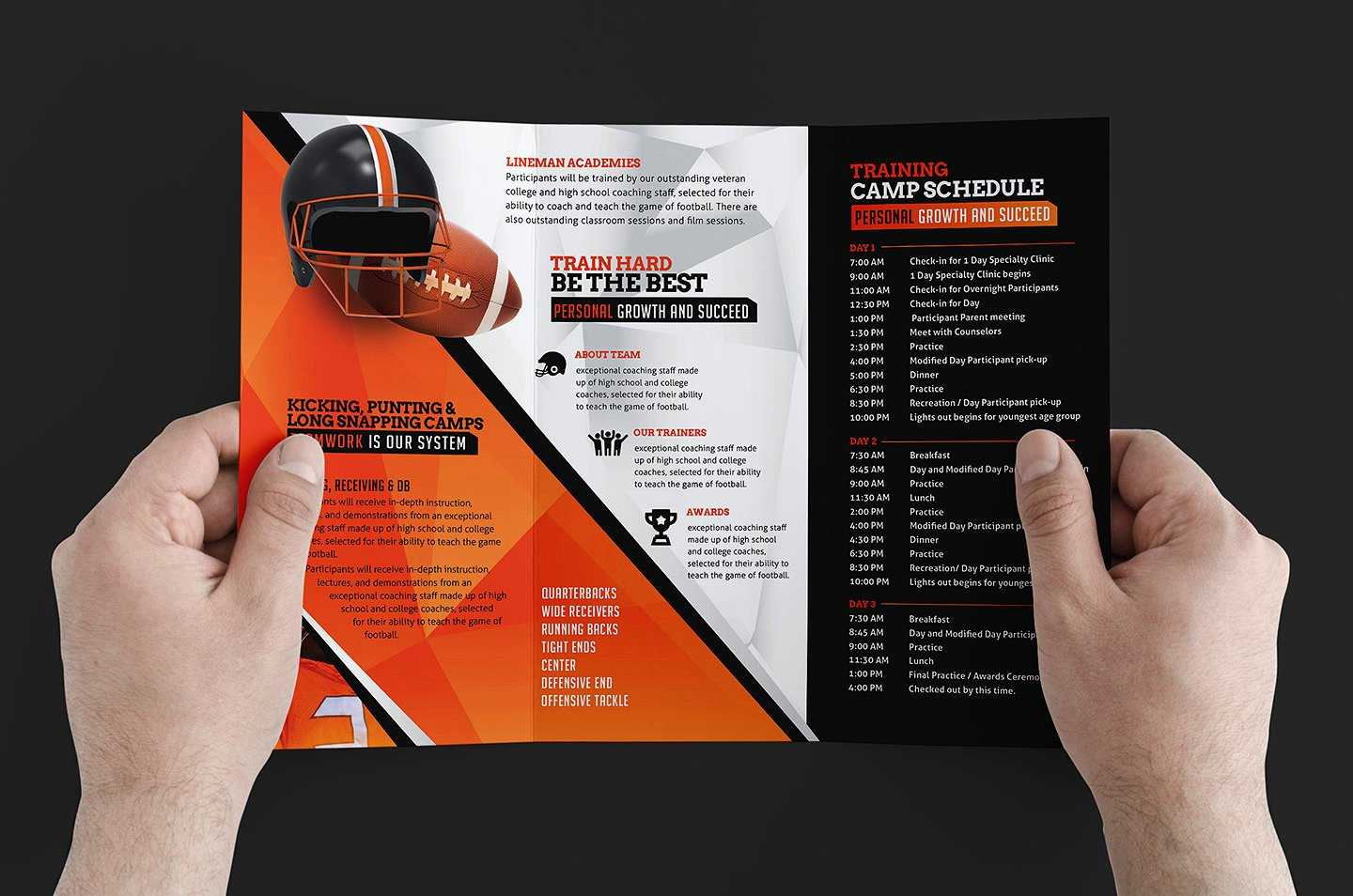 Free 12+ Training Brochure Designs In Word | Psd | Ai | Eps In Training Brochure Template