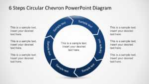 Free 6 Steps Circular Chevron Powerpoint Diagram intended for Powerpoint Chevron Template