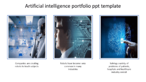 Free-A Three Noded Portfolio Ppt Template within Radiology Powerpoint Template