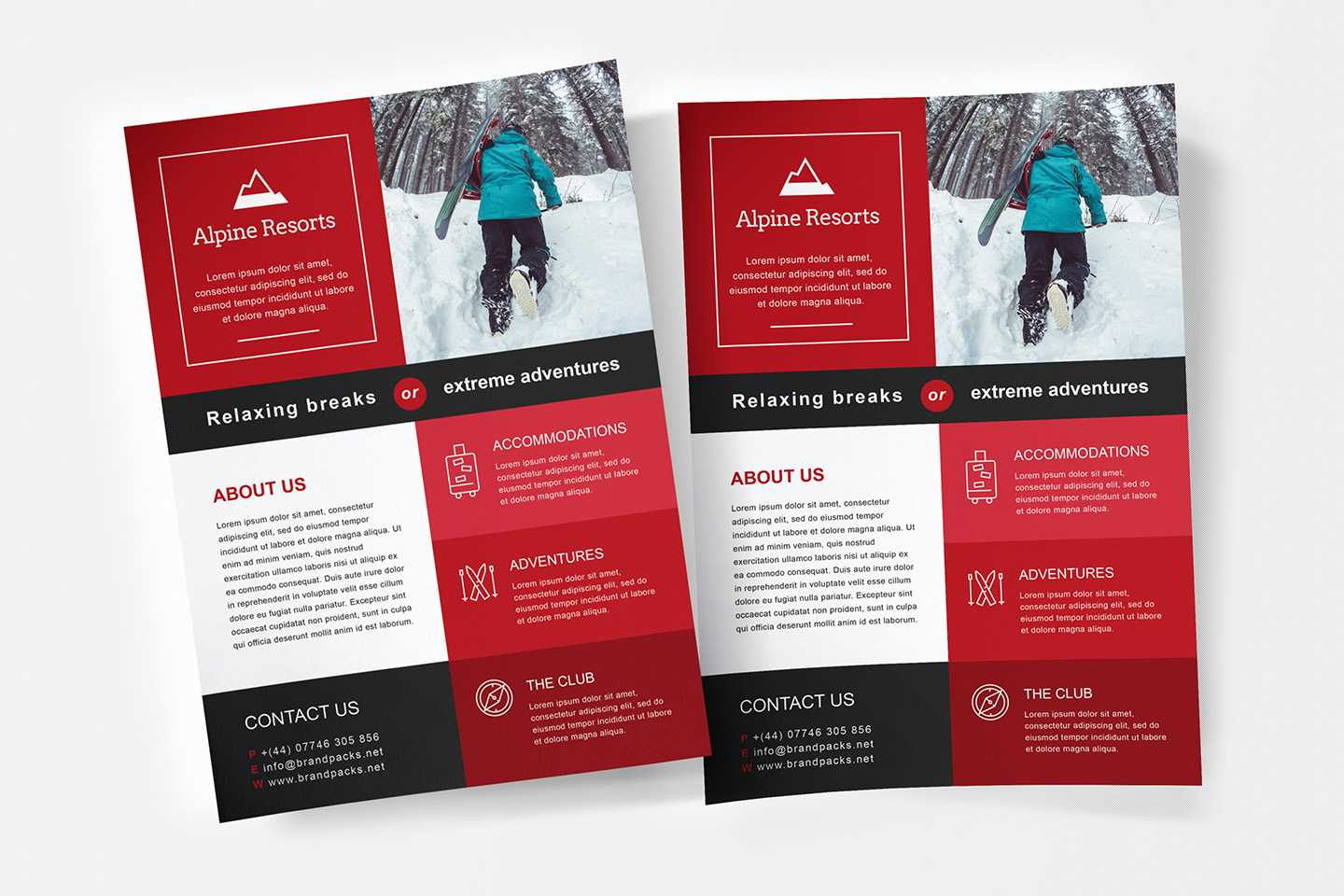 Free A4 Poster Template - Psd, Ai & Vector - Brandpacks In Illustrator Brochure Templates Free Download