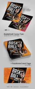 Free Basketball Camp Flyer In Psd | Free Psd Templates for Basketball Camp Brochure Template