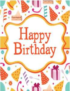 Free Birthday Card Template – Tomope.zaribanks.co throughout Microsoft Word Birthday Card Template