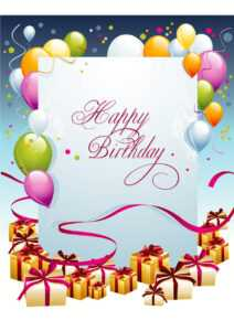 Free Birthday Card Template – Tomope.zaribanks.co within Birthday Card Template Microsoft Word