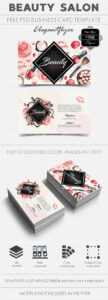 Free Business Card For Beauty Salon in Hair Salon Business Card Template