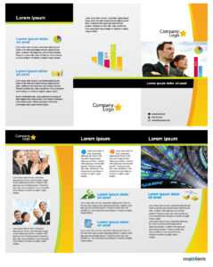 Free Business Vector Brochure Template In Illustrator with regard to Ai Brochure Templates Free Download