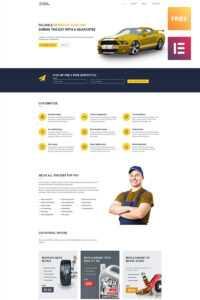 Free Car WordPress Theme WordPress Theme with Automotive Gift Certificate Template
