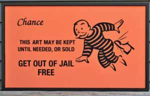Free Card: Monopoly Get Out Of Jail Free Card within Get Out Of Jail Free Card Template