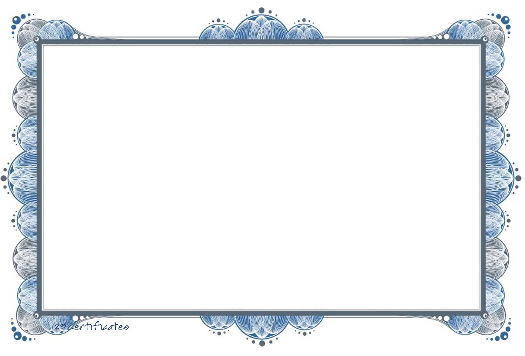 Free Certificate Border, Download Free Clip Art, Free Clip Intended For Free Printable Certificate Border Templates